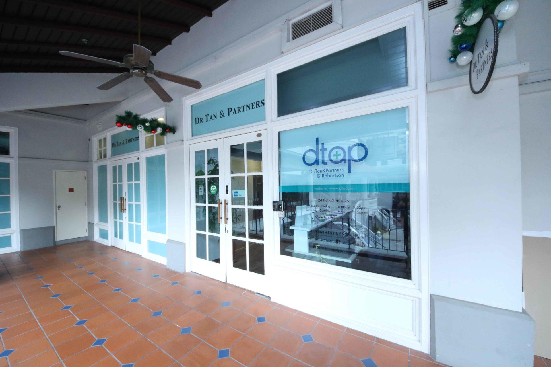 DTAP Clinic @ Robertson